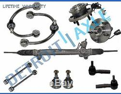 11pc Complete Power Steering Rack and Pinion Suspension Kit for Jeep with ABS