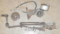 1964 1965 Ford Mustang ORIG 6 Cylinder 170 200 POWER STEERING RACK + PUMP ASSEM