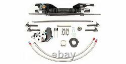 1965 1966 Ford Mustang Unisteer Power Rack and Pinion Steering Kit 8010890-01