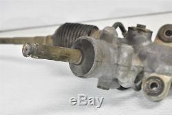 2005-2007 Subaru WRX STI Power Steering Rack & Pinion Bent Tie Rod 05-07
