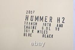2006 2007 Hummer H2 Power Steering Gear Box Rack Motor Oem