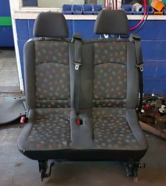2006 W639 Mercedes Vito Viano Rear Back Double Twin Passenger Seat+seat Belts