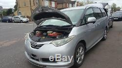 2007 toyota ESTIMA 2.4 PETROL HYBRID 3RD ROW RIGHT AND MIDDLE CENTRE FOLD SEATS