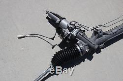 2012 BMW M3 S65 ENGINE POWER STEERING RACK AND PINION GEAR OEM E90 E92 E93 36k