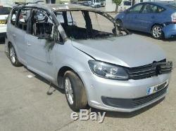 2012 Volkswagen Touran Se 2.0 Ltr Diesel Breaking Power Steering Rack For Parts