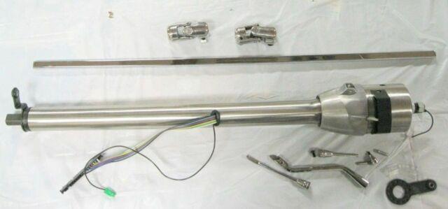 32 Plain Tilt Steering Column + 36 Shaft & U-joints For Mustang Ll Power Rack