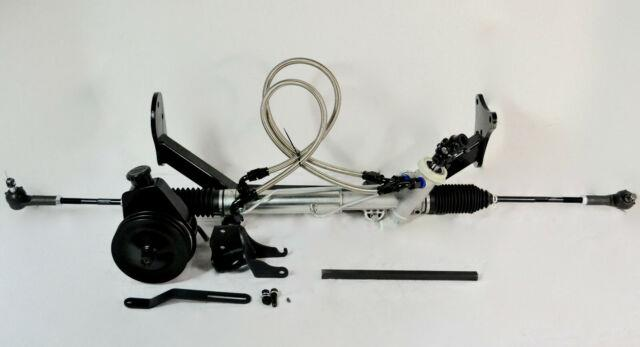 55 56 57 Tri 5 Chevy Belair Rack And Pinion Power Steering Kit New