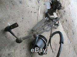 70-77 Maverick Comet Power Assist Steering Rack Gear Box Pump Complete Set Oem