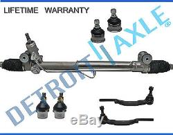 7pc Complete Power Steering Rack and Pinion Suspension Kit for Chevy GMC 16 mm