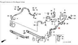 94-01 Integra P/S Combination Return Oil Pipe Rack&pinion Cooling Line Tube OEM