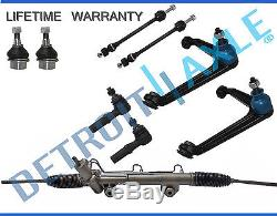 9pc Power Steering Rack and Pinion Suspension Kit for Dodge Ram 1500 4x4 / 5-Lug