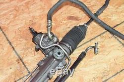 BMW E46 325 328 330 ZHP Power Steering Gear Box Rack & Pinion Tie Rod Assy OEM