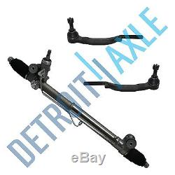 Chevy Buick Olds GMC Isuzu Complete Rack & Pinion Assembly + 2 NEW Outer Tie Rod