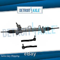 Detroit Axle Complete Power Steering Rack /& Pinion Assembly All 4 Inner /& Outer Tie Rod Ends