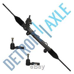 Complete Power Steering Rack and Pinion + 2 Outer Tie Rods witho Magnasteer