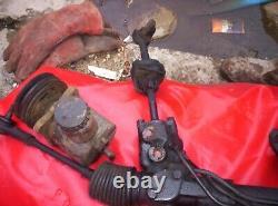 Cortina mk3/4/5 power steering rack with pump brackets pipes etc kitcar hotrod