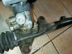 Ek9 honda civic type r Steering Rack Converted To Manuel Non Power Steering
