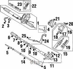 Genuine Toyota 1993-1998 Supra MKIV Turbo Power Steering Rack/Gear 44250-14240