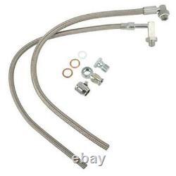 Gotta Show 131101 Mustang Rack & Pinion Power Steering Braided Steel Hose Kit