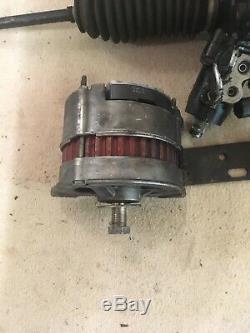 Jaguar MK 2 Power Steering Rack, Dynamo and Pump