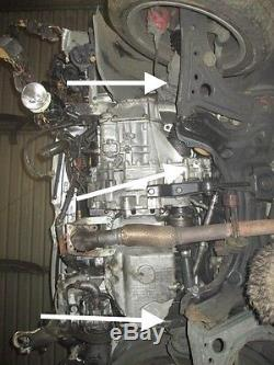 Lupo GTI 1.6 6 speed power steering rack complete subframe wishbone trackrod