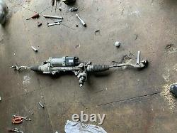 Mercedes E Class W212 2014 E350 Electric Complete Steering Rack A2124600301