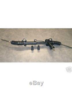 Mustang II 2 Suspension Power Steering Rack + Bushings & Tie Rod Ends street rod