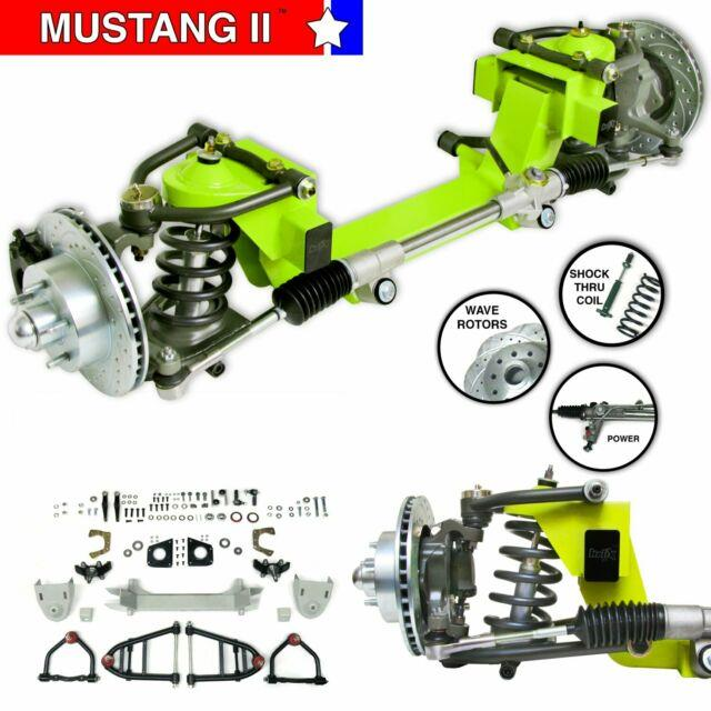 Mustang Ii Ifs Kit With Power Steering Rack For 49-54 Ford Car Front Suspension