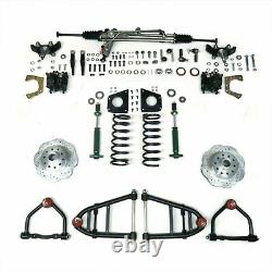 Mustang II IFS Kit with Power Steering Rack for 59-74 Galaxie Front Suspension