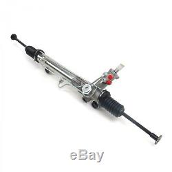 NEW For Mustang II 2 Power Steering Rack & Pinion Stock Finish Street Rod
