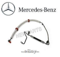 NEW Mercedes W215 W220 Power Steering Hose Pump To Rack Genuine 2204602324