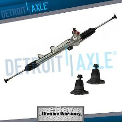New Complete Power Steering Rack and Pinion + Upper Ball Joints 1984 Corvette