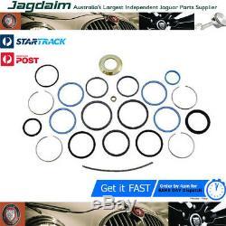 New Jaguar XJ40 XJ6 Power Steering Rack & Pinion Seal Kit JLM10838