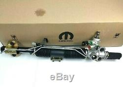 OEM Factory Mopar Power Steering Tie Rod End Ring Rack and Pinion Short Unit