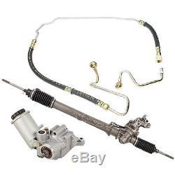 P/S Power Steering Rack & Pinion, Pump, & Pressure Hose Kit Fits Lexus LS400