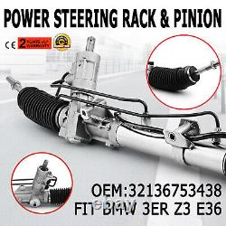 Power Steering Rack Fit BMW 3-SERIES E36 E46 Z3 318i Coupe Touring