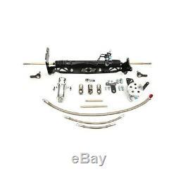 Power Steering Rack & Pinion 1967-70 Chevy C10 Pickup w Drum Brakes 8011900-01