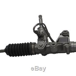Power Steering Rack & Pinion Assembly + 2 Outer Tie Rod End for Acura Honda