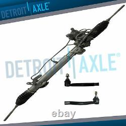 Power Steering Rack & Pinion + Outer Tie Rods for 2000-2006 Nissan Sentra 1.8L