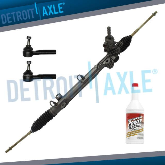 Power Steering Rack & Pinion + Outer Tierods For 2005 2007 Dodge Grand Caravan