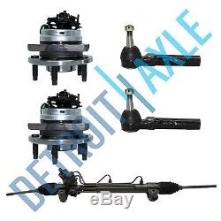 2 New Outer Tie Rod Ends for MALIBU Complete Electric Steering Rack  Pinion