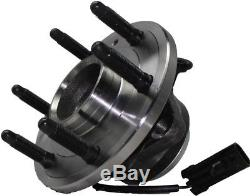 Rack and Pinion Front Upper & Lower Control Arm Wheel Hub Kit for Chevy GMC 2WD
