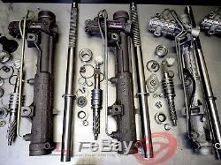 Remanufactured BMW E46 power steering rack PURPLE TAG RHD