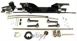 Unisteer 1965 1966 Mustang Power Steering Rack & Pinion Kit 8010890-01 IN STOCK