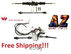 Wicked Rackzilla Rack Power Steering Kit Can Am Maverick DS Turbo Quick 14 15 16