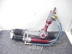Woodward 4.45 Ratio Power Steering Rack & Servo Dirt Late Model 18-1/4 QQQ10